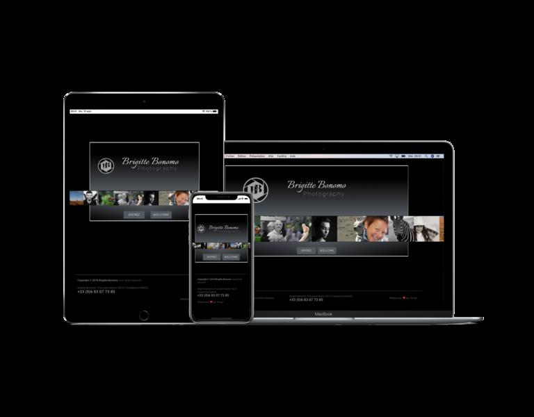 Site internet pour photographe